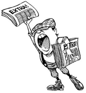 La prensa, convocando